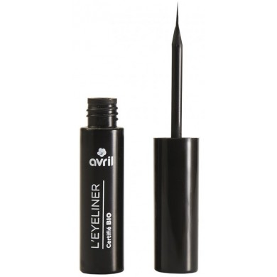 Avril Certified Organic Liquid Eyeliner Black