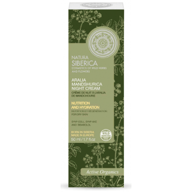 Natura Siberica Aralia Mandshurica Night Cream