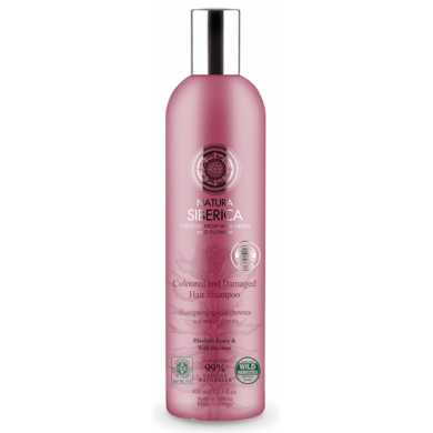 Natura Siberica Coloured & Damaged Hair Shampoo
