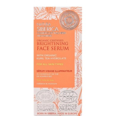 Natura Siberica Brightening Face Serum for all skin types