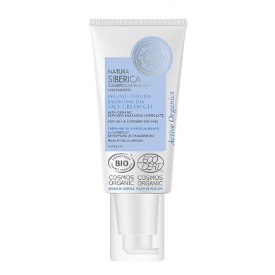 Natura Siberica Balancing Face Cream-Gel for oily & combination skin
