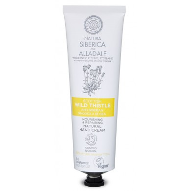 Natura Siberica Alladale Nourishing and Repairing Natural Hand Cream