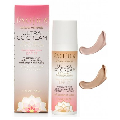 Pacifica Ultra CC Cream Radiant Foundation SPF17