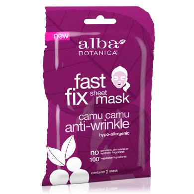 Alba Botanica Fast Fix Camu Camu Anti-Wrinkle Sheet Mask