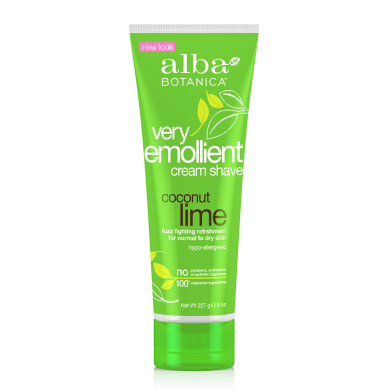 Alba Botanica Cream Shave Coconut Lime