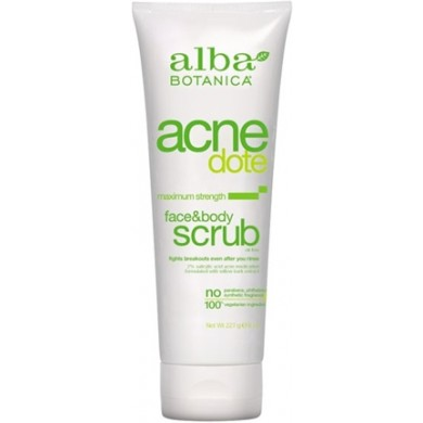 Alba Botanica Natural Acnedote Face and Body Scrub