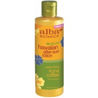 Alba Botanica Hawaiian Kona Coffee After-sun Lotion