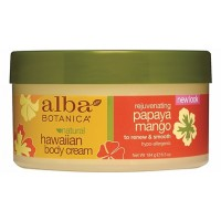 Alba Botanica Hawaiian Papaya Mango Body Cream