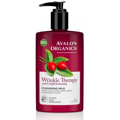 Avalon Organics Wrinkle Therapy Cleansing Milk