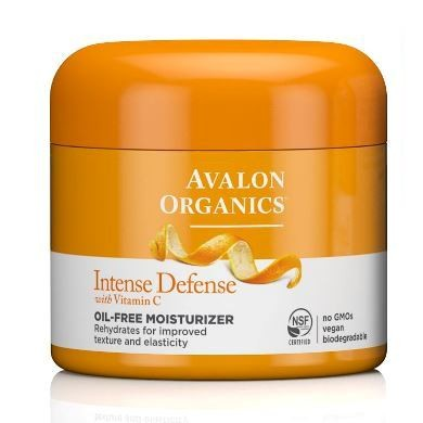 Avalon Organics Intense Defense Oil-Free Moisturizer with Vitamin C