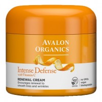 Avalon Organics Intense Defense Renewal Cream with Vitamin C