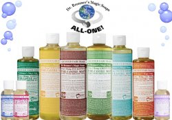 Dr. Bronner's Magic Soaps – 18-in-1 uses