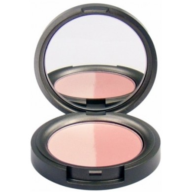 Beauty Without Cruelty Mineral Duo Blusher Pressed - Radiant Rose