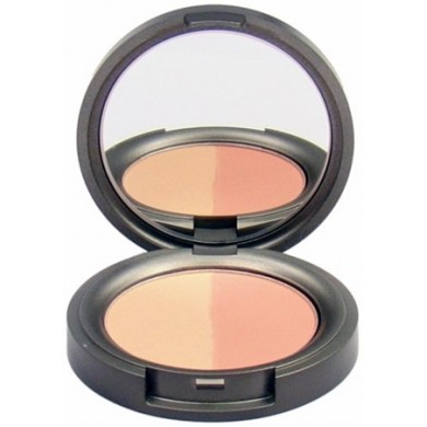 Beauty Without Cruelty Mineral Duo Blusher Pressed - Sweet Apricot