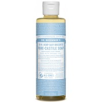 Dr. Bronner's Unscented Baby Mild Castile Liquid Soap 237ml