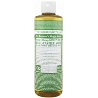 Dr. Bronner's Green Tea Castile Liquid Soap 473ml