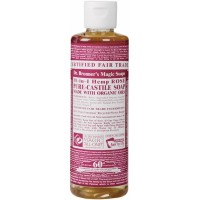 Dr. Bronner's Rose Castile Liquid Soap 237ml