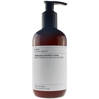 Evolve Organic Beauty Sunless Glow Body Lotion 250ml
