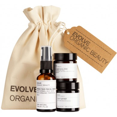 Evolve Organic Beauty Skincare Essentials
