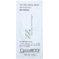 Giovanni Tea Tree Triple Treat Invigorating Shampoo Sample