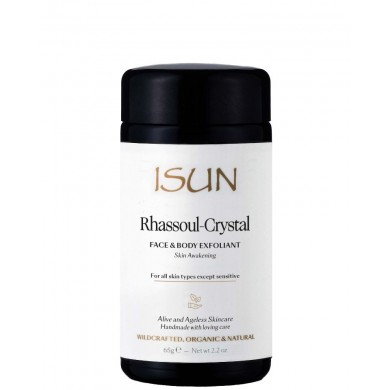 ISUN Rhassoul-Crystal Face & Body Exfoliant