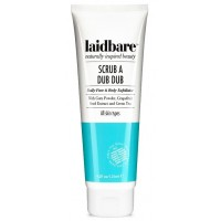 Laidbare Scrub A Dub Dub Face and Body Exfoliator