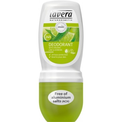Lavera Roll-On Deodorant Lime and Verbena