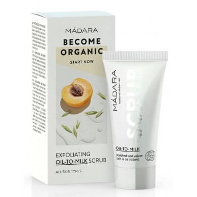 "Madara Exfoliating Scrub ""Oil-To-Milk"" 12.5ml"