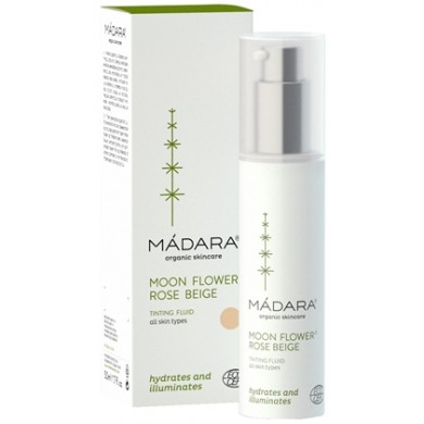 Madara Moon Flower Rose Beige Tinted Fluid