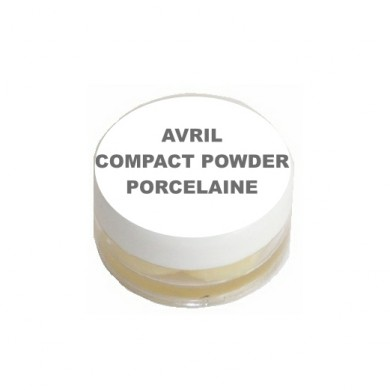 Avril Compact Powder Porcelaine Sample