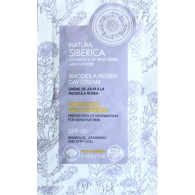 Natura Siberica Rhodiola Rosea Day Cream Sample