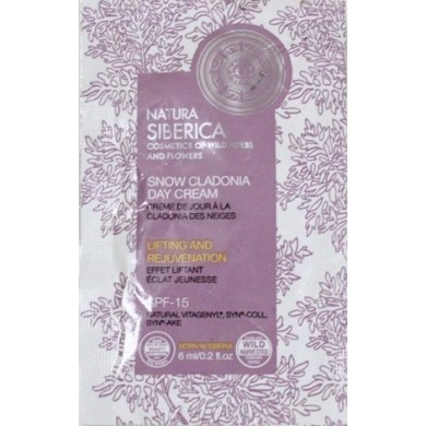 Natura Siberica Snow Cladonia Day Cream Sample