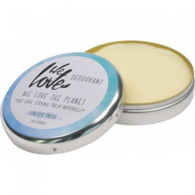 We Love The Planet Natural Deodorant Cream Forever Fresh