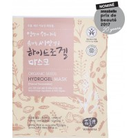 Whamisa Organic Seeds Hydrogel Facial Sheet Mask