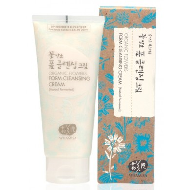 Whamisa Organic Flowers Foam Cleansing Cream
