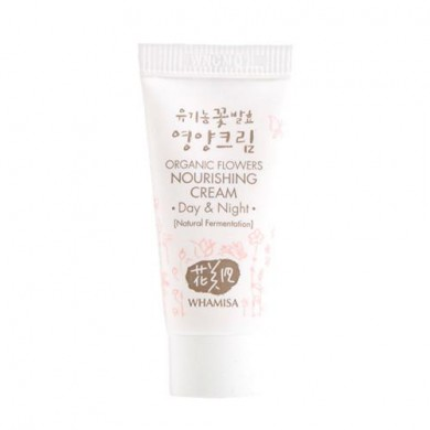 Whamisa Organic Flowers Nourishing Cream - Miniature