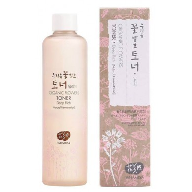 Whamisa Organic Flowers Toner Deep Rich - 300ml