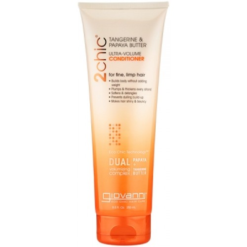Giovanni 2chic Tangerine & Papaya Butter Ultra-Volume ...